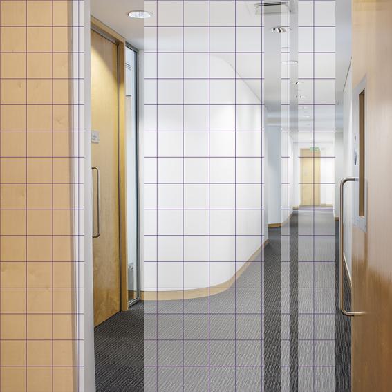 Grid Meeting Room Corridor