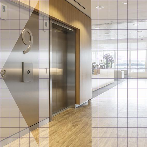 Grid Floor 9 Lifts