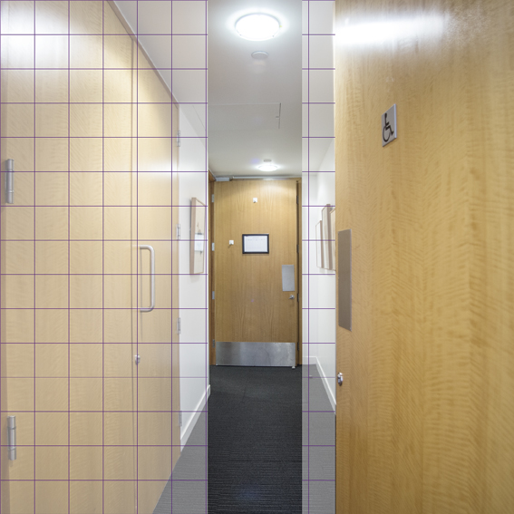Grid Accessible Toilet