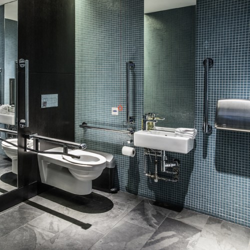 Ground Floor Disabled Lavatory -