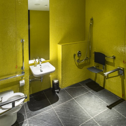 1st Floor Treatment Room and Shower -