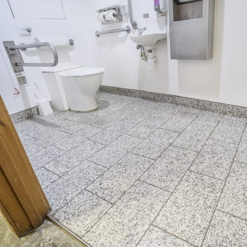 Reception, Accessible Toilet -