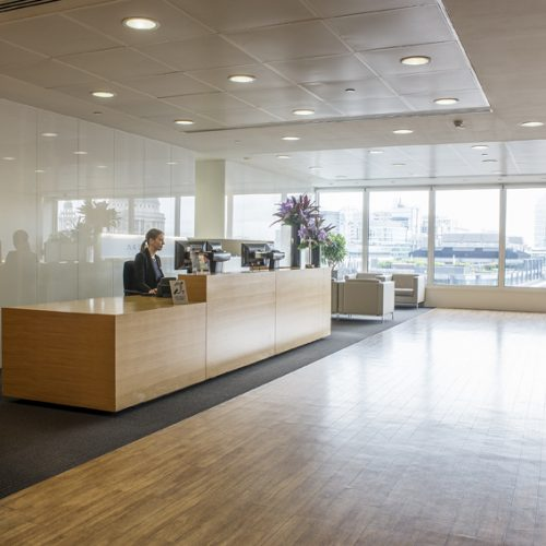 Floor 9 Reception -